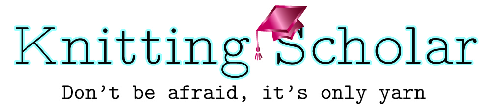 Knitting Scholar header image