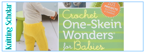 Review: Crochet One-Skein Wonders for Babies post image