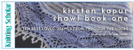 Review: Kirsten Kapur Shawl Book One post image