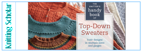 5684569e6d87 Review  Knitter s Handy Book of Top-Down Sweaters